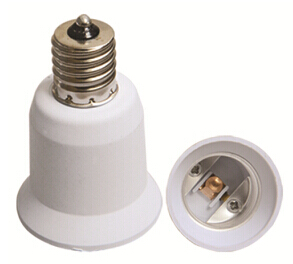 E14 to E27 light socket extender