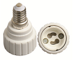 E14 to GU10 light bulb adapter