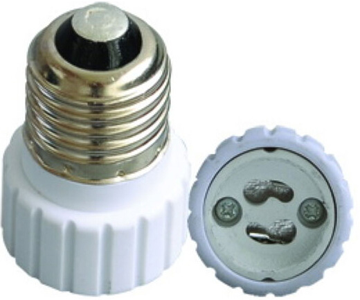 E27 to GU10 light bulb socket adapter