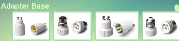 LED Light bulb socket adapter