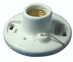 E27 Porcelain standard lamp holder