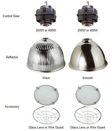 aluminium LED high bay lights