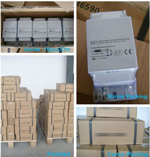 magnetic ballast hid packing package