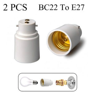B22 to E27 Lamp holder Converter