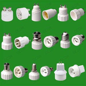 Lamp Socket Adapter TYPES