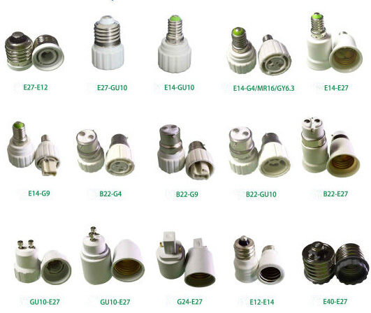 e27 base bulb socket lamp holder adapter