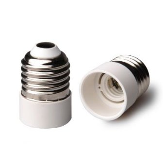 light bulb adapter e27 to e14