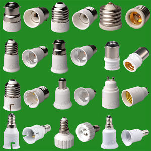 Lamp Base Adapters
