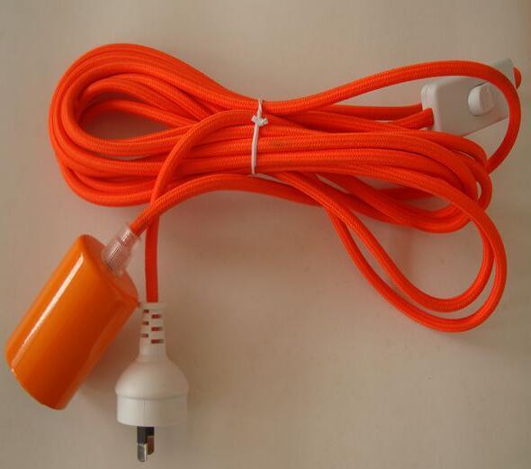 12 15 19 Hanging Light Bulb Cord With E26 Bulb Holder Socket