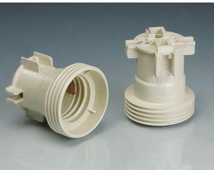 E27 108 Bakelite Lamp Holder White