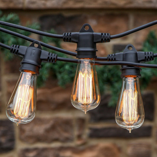 Weatherproof Commercial Led Festoon Lighting Outdoor Globe