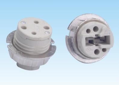 G9 Bulb Socket 250v 2a Smooth And Thread With Ring For Halogen Lamps